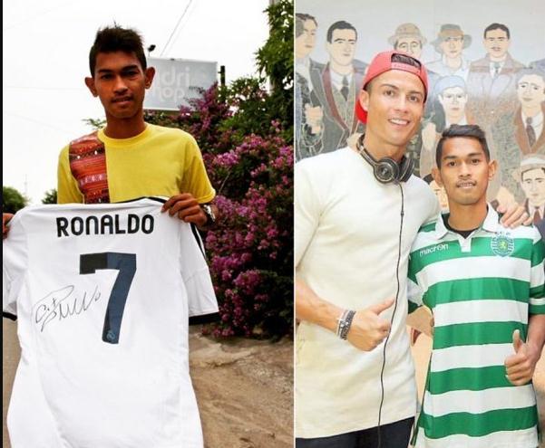 Jersey Cristiano Ronaldo Yang Dimiliki Martunis Barganti Tuan Dengan Harga Lelang Rp 180 Juta
