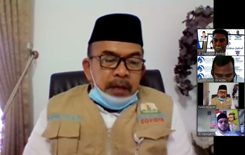 Kadisdik Aceh Buka Workshop Meusaneut Batch 2 IGI Lhokseumawe