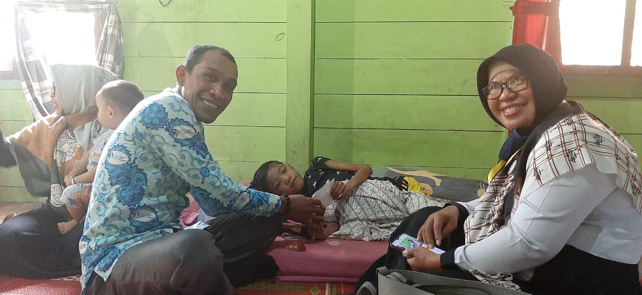 Hasil Ripee Ripee, IGI Aceh Utara Bantu Anak dari Penderita Disabilitas yang Sakit Jantung