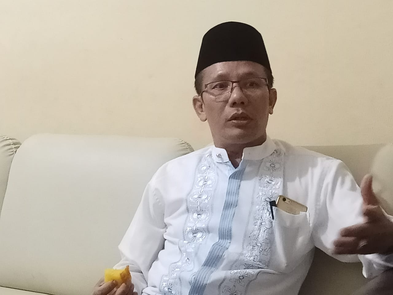 Menag Lantik Dr Danial Sebagai Rektor IAIN Lhokseumawe
