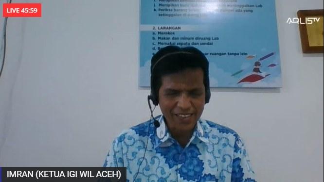Imran Terpilih Sebagai Ketua IGI Aceh Periode 2021 – 2026