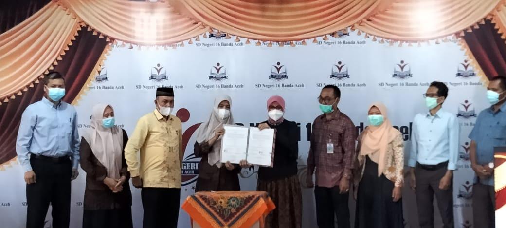 SDN 16 Banda Aceh Lakukan MoU dengan FKG USK