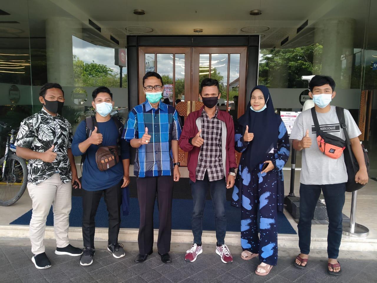 Poltas Kembali Terima Beasiswa Bank Indonesia