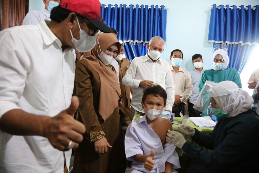 Langkah Tegas dan Cepat Kadisdik Aceh terhadap Vaksinasi Anak Sekolah